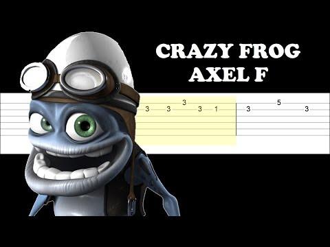 Crazy Frog - Axel F (Easy Guitar Tabs Tutorial)