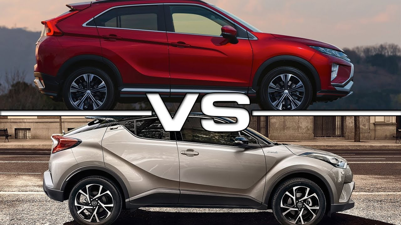 2018 mitsubishi eclipse cross vs 2017 toyota c hr youtube. Black Bedroom Furniture Sets. Home Design Ideas
