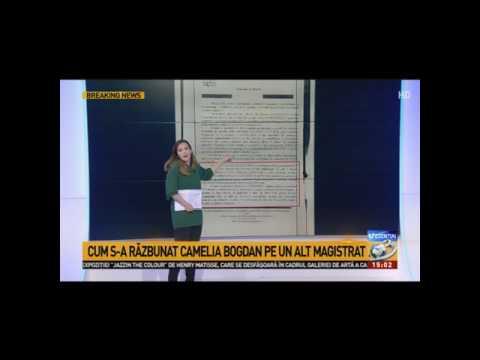 STIRIPESURSE.RO Judecatoarea Camelia Bogdan cercetata disciplinar