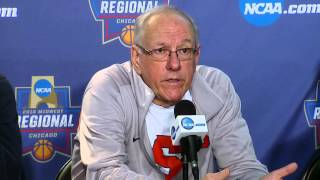 News Conference: Syracuse Elite Eight Preview