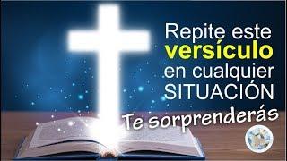REPITE ESTE VERSÍCULO EN TODO MOMENTO Y TE SORPRENDERÁS / ¡TODO LO PUEDO EN CRISTO QUE ME FORTALECE!