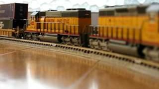 AC4400【up】+C44-9W【up】+SD70【sp】+SD40【up】+Freight
