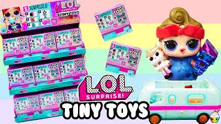 LOL Surprise TINY TOYS Full Case Buildable Miniature LOL Glamper