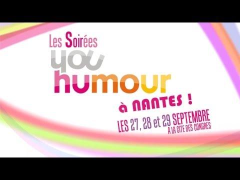 Bande Annonce : Soirées Youhumour à Nantes