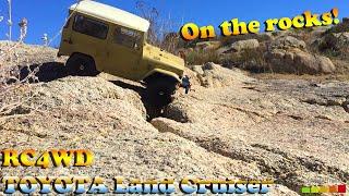Gelande II with Cruiser Body (Toyota Land Cruiser FJ40) RC4WD  - 2nd Run