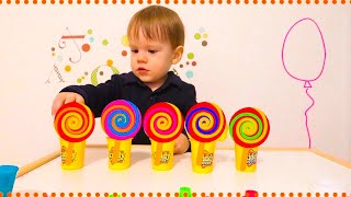 4 Colors Play Doh Ice Cream Cups LOL Chupa Chups Surprise Toys Roblox Kinder Surprise Eggs