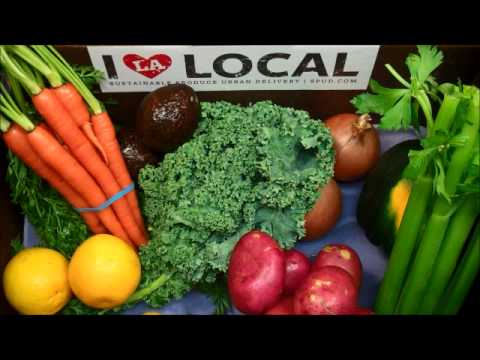 LA's Local Organic Produce Box: Nov.12th - 17th