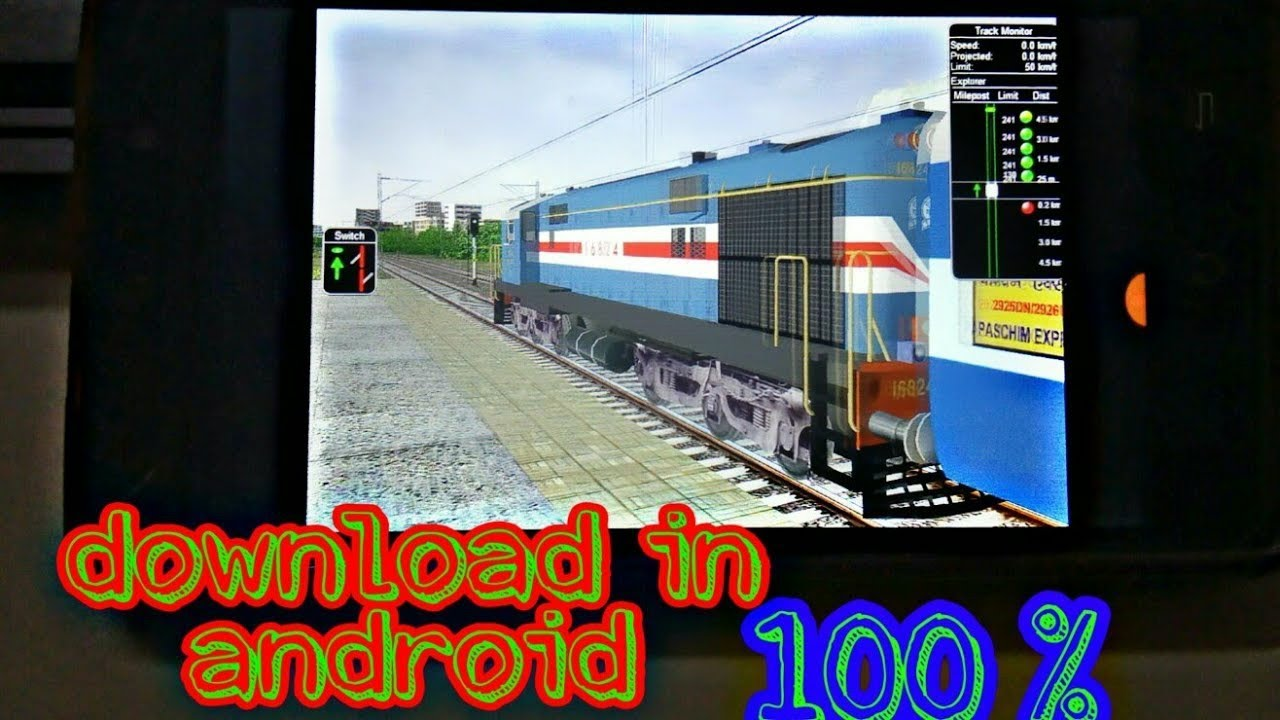 How to download msts open rails in android game play