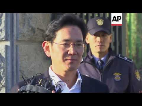 Samsung heir released free on suspended jail term