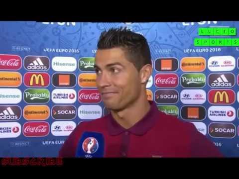 Portugal vs Wales 2-0 Cristiano Ronaldo Post Match Interview