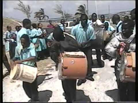 2006 San Salvador High school Junkanoo rush