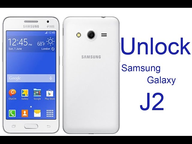Unlock Samsung Galaxy J2 Unlock Code For SM-J200F SIM