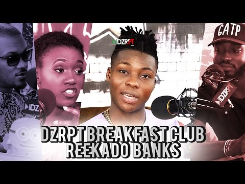 VIDEO: Reekado Banks Talks Olamide & Don Jazzy's Drama On The Breakfast Club With DZRPT TV