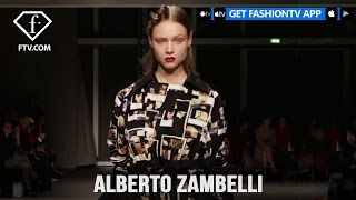 Milan Fashion Week Fall/WItner 2017-18 - Alberto Zambelli | FTV.com