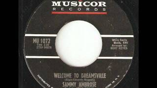 SAMMY AMBROSE Welcome To Dreamsville MUSICOR