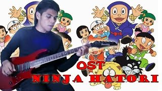 OST Ninja Hatori Opening Versi Indonesia Guitar Cover By Mr. JOM