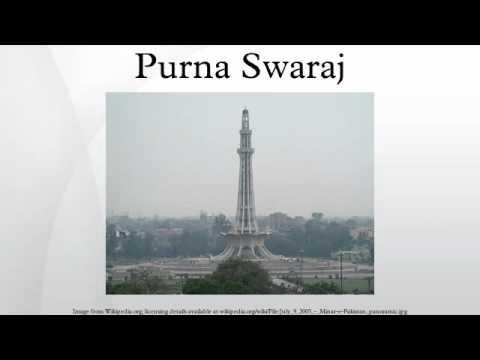 Purna Swaraj - YouTube