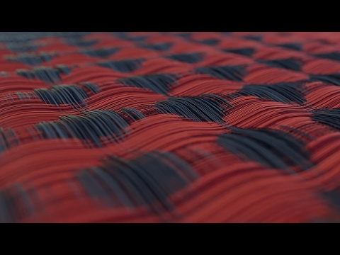 Create Nike Flyweave using X Particles in Cinema 4D
