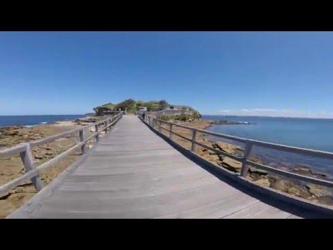 Bare Island Fort, La Perouse, Botany Bay, SYDNEY AUSTRALIA 2016 (1080HD)