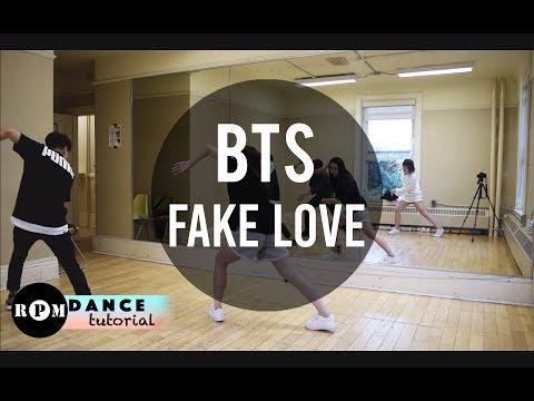 """BTS """"Fake Love"""" Dance Tutorial (Chorus)"""