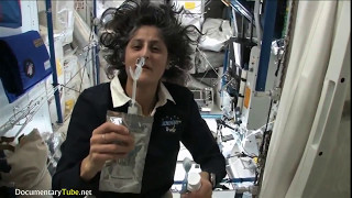 How they Eat, Drink and survive in Space ׃ Sunita Williams in The International Space Station