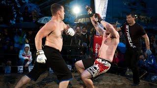 Hillbilly vs Bodybuilder, Heavyweight MMA Fight !!!