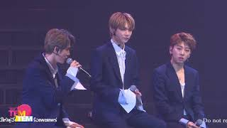 171216 JBJ 1st Fan Meeting in Bangkok 'COME TRUE' | Talk Part