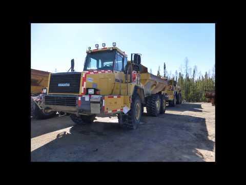 Yellowknife Auction - Mining Equipment - De Beers Snap Lake Diamond Mine Assets
