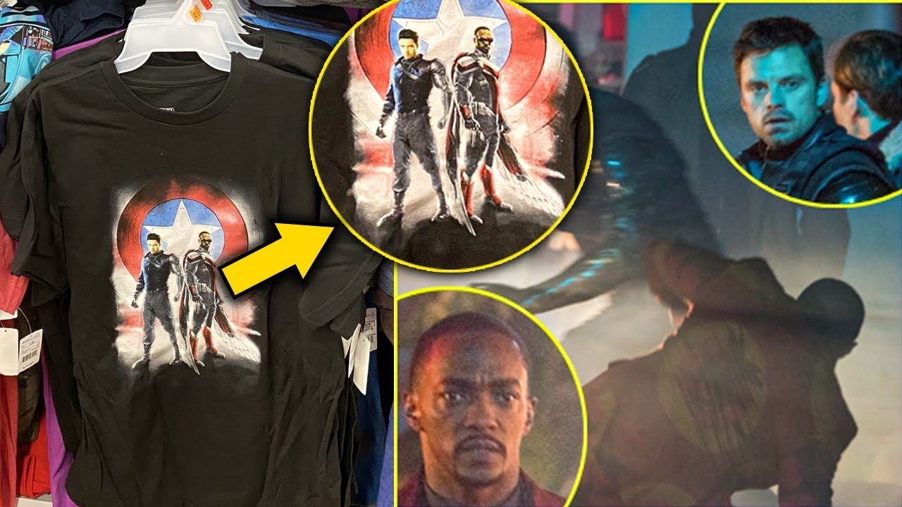 BREAKING: Marvel Already Released Falcon and The Winter Soldier Merchandise