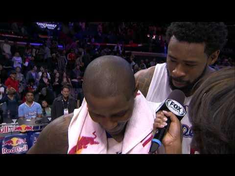 DeAndre Jordan Sings to Jamal Crawford in Interview Bomb