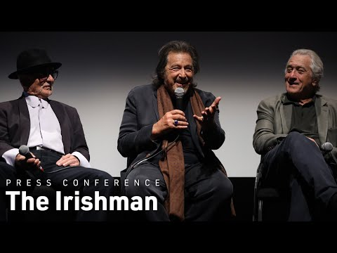 Martin Scorsese, Robert De Niro, Al Pacino & Joe Pesci on The Irishman | NYFF57