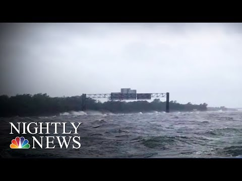 Watch Family Airlifted From Hurricane Harvey Floodwaters | NBC Nightly News