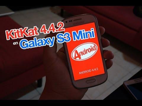KitKat 4.4.2 en Galaxy S3 Mini i8190 con un sólo clic