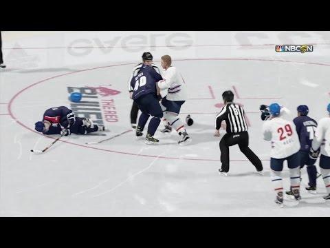 Eisbären Berlin vs. Adler Mannheim | NHL 17 Simulation