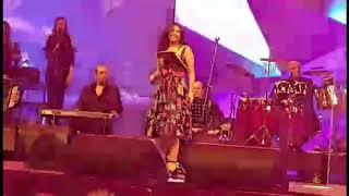 شرين عبد الوهاب  حفل غناء الفنانة  في دبي القرية العالمية 2018