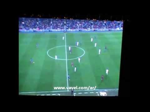 Guardiola explica el cambio de posición de Messi  Gran Rex 2-5-13