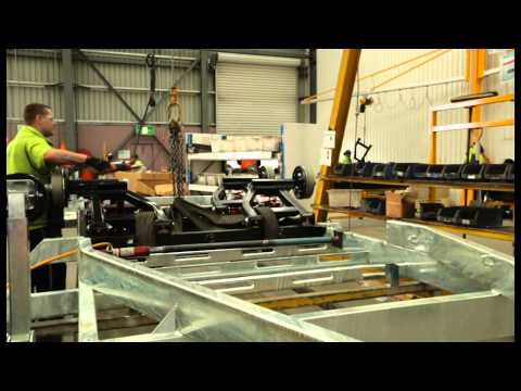 Building The Superior Jayco Chassis & Suspension