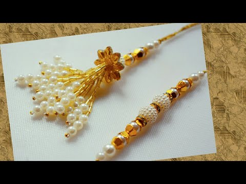 New Rakhi design || Rakhi making || Raksha bandhan 2019