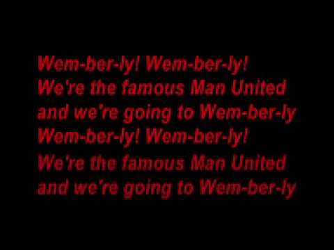 manchester united (Man United song) (with lyrics)