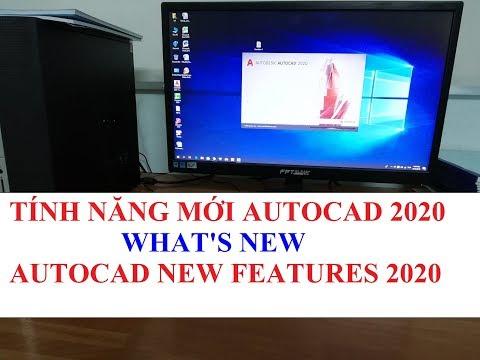 #themanhtv Học AutoCAD 2020 Tutorial Video 30: Tính năng mới của Autocad 2020 - What's New