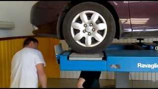 Hyundai Elantra HD проверка подвески на стенде, ч.2 смотреть