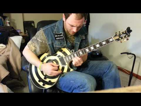 Heavy is the Head - Zac Brown band guitar improv (Kyle Wright Cover)