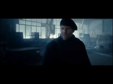 The Expendables 2 Jason Statham Fight HD