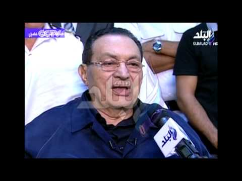 Hosni Mubarak Speaks Publicly
