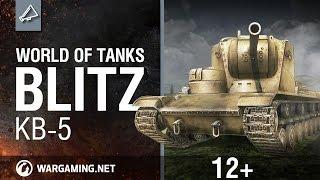 Легендарный КВ-5. World of Tanks Blitz.