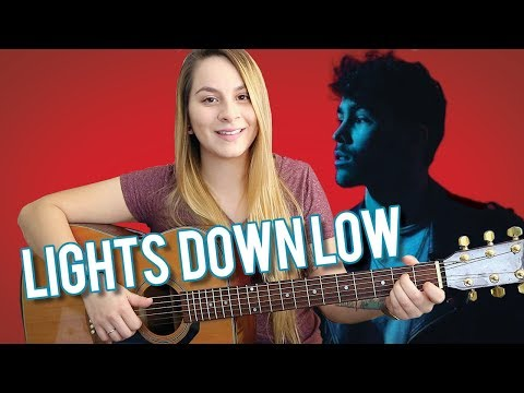 Lights Down Low | Guitar Tutorial | Max | With Finger Picking! | EASY Chords