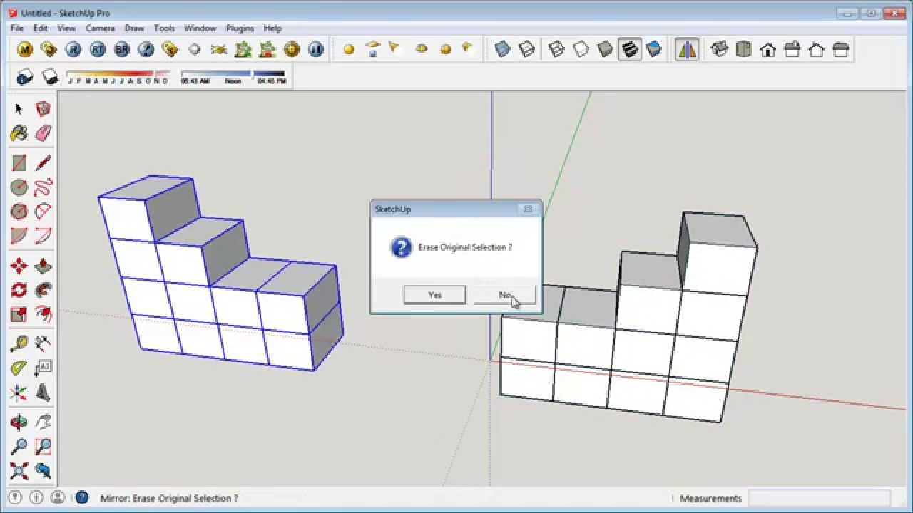 Sketchup mirror plugins youtube for Mirror in sketchup
