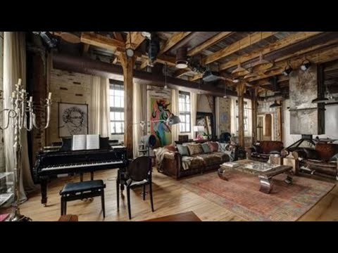 🍍 (Vintage • Rustic • Industrial) Eclectic Loft Apartment In Russia