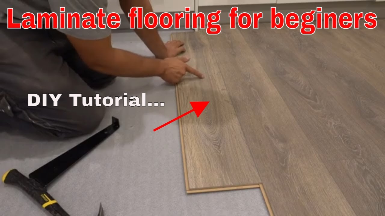 How To Install Laminate Flooring Diy Transformation Krono Youtube
