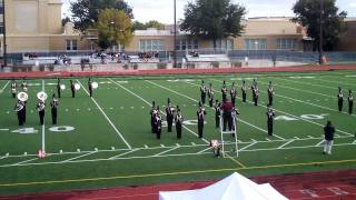 PLHS Marching Band Rocks the Links Competition 9th Grade 1010
